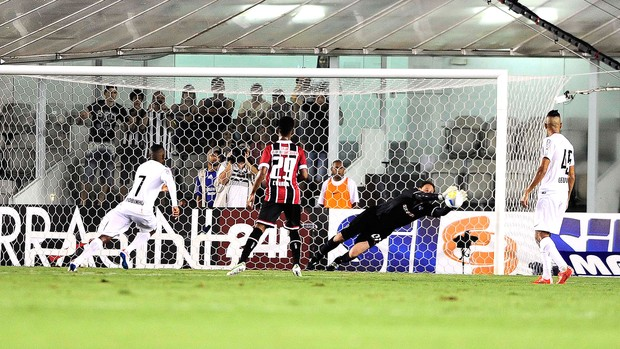 Rogério Ceni, Santos X São Paulo (Foto: Marcos Ribolli)