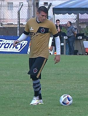 Rafael Oliveira, Botafogo-PB (Foto: Reprodução / TV Cabo Branco)