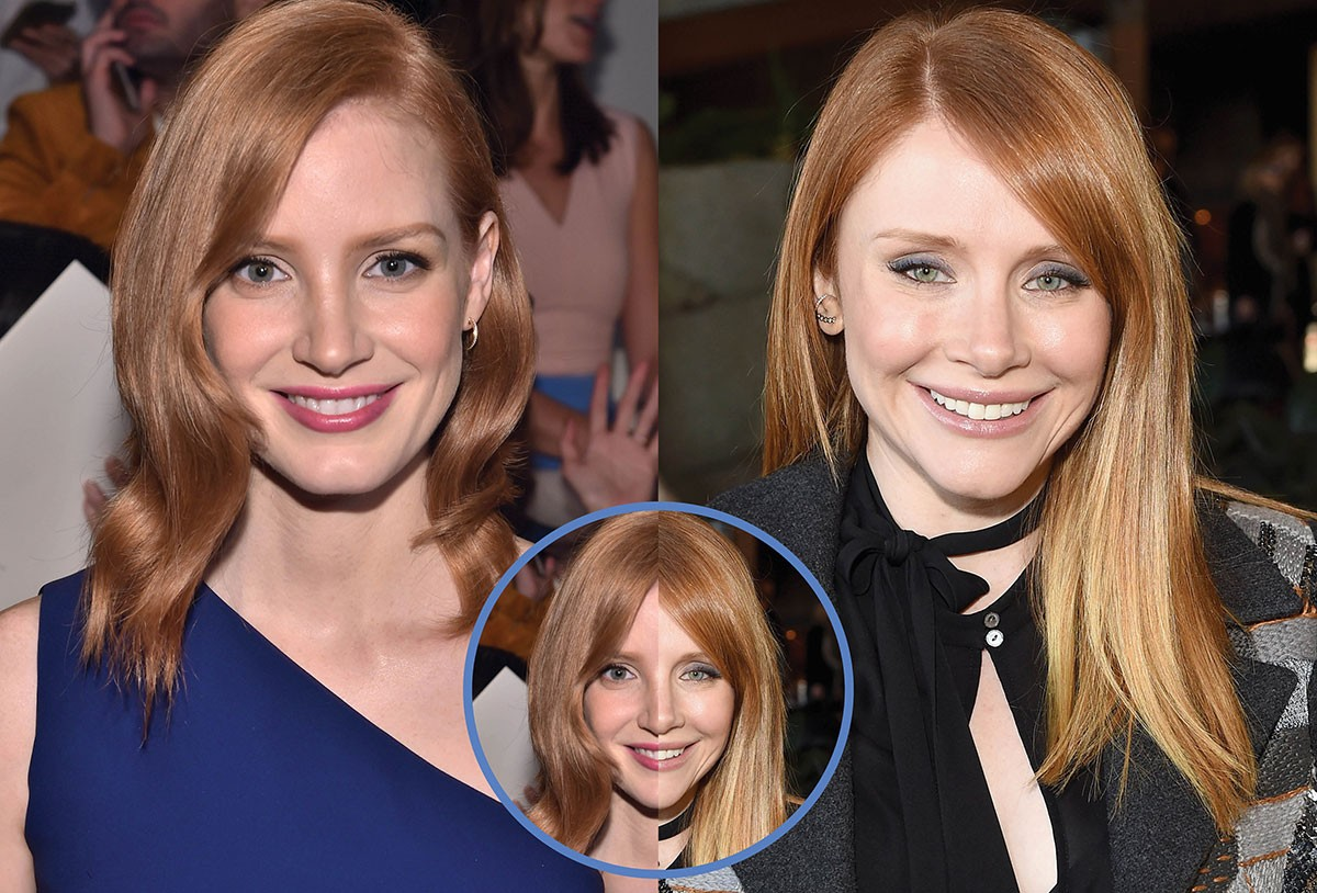 Jessica Chastain e Bryce Dallas-Howard (Foto: Getty Images)