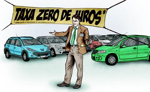 """Fique atento com a chamada """"taxa zero"""""""