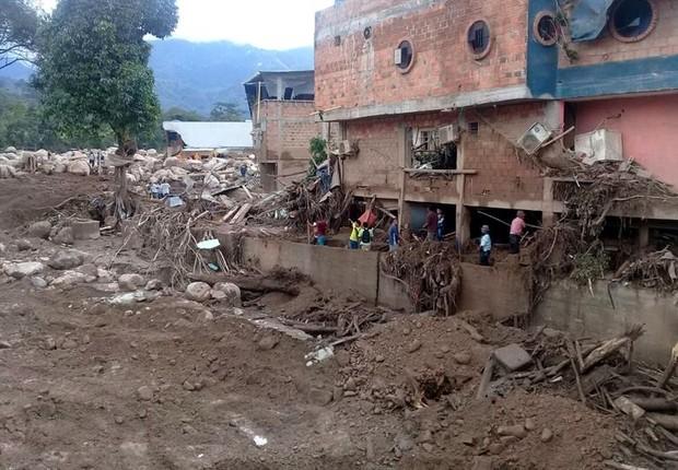 Chuvas e deslizamentos na Colômbia causaram mais de 200 mortes
