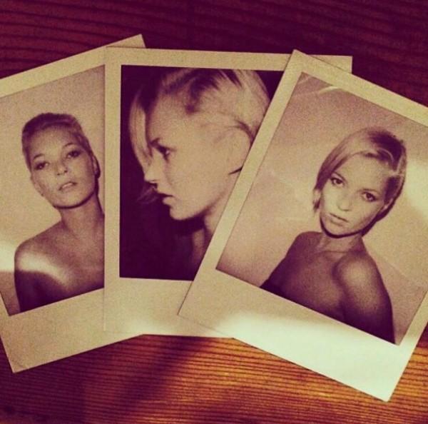 Imagem publicada por Kate Moss em redes sociais (Foto: Reprodução Instagram)