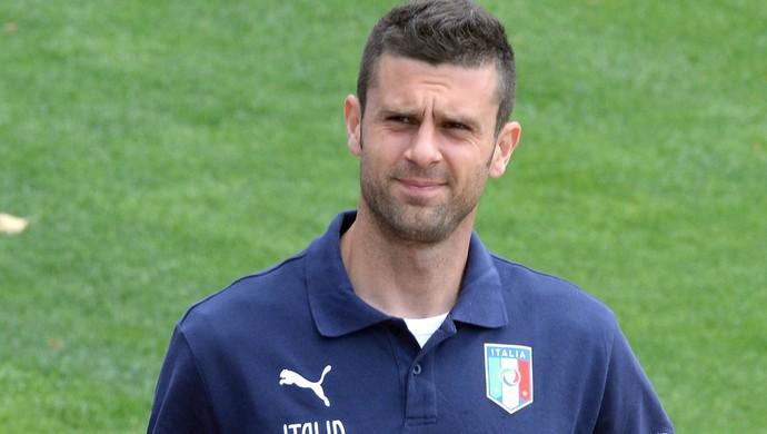 Thiago Motta no treino da Itália (Foto: Getty Images)