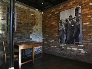 Quarto onde Mandela ficava na Liliesleaf Farm (Foto: Gianluigi Guercia/AFP)