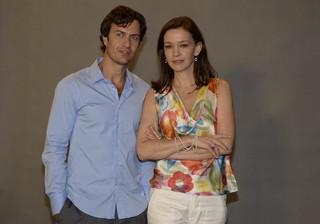 Gabriel Braga Nunes e Julia Lemmertz (Foto: Roberto Teixeira/EGO)