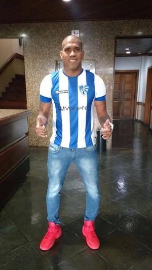 Luiz Carlos Cruzeiro-RS atacante (Foto: Divulgação / Cruzeiro-RS)