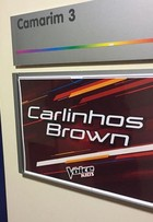 Carlinhos Brown mostra bastidores das gravações do 'The Voice Kids'