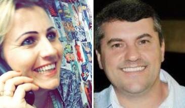 Monica e Alcir eram casados (Foto: Montagem/Facebook)