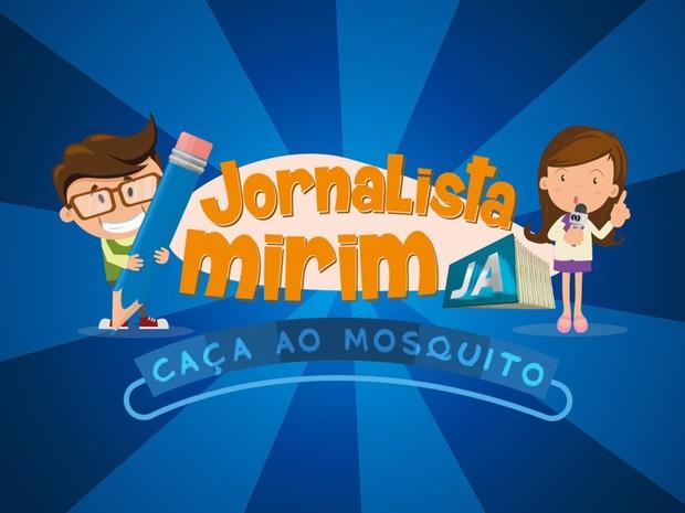 Concurso Jornalista Mirim 'Caça ao Mosquito', Goiás (Foto: Arte/TV Anhanguera)