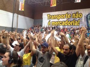 Metroviários decidem manter greve em São Paulo (Foto: Tatiana Santiago/G1)