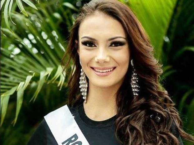 Miss Rondonópolis, Thaisa Bueno, 19 anos, tem 1,75m e 53 kg (Foto: Divulgação)