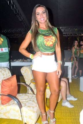 Nicole Bahls em Salvador (Foto: Marcelo Machado/Ag Haack)