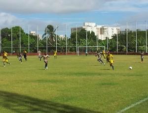 Rio Branco-ES encerra pré-temporada com empate diante do Tupy-ES (Foto: Eduardo Dias/Globoesporte.com)