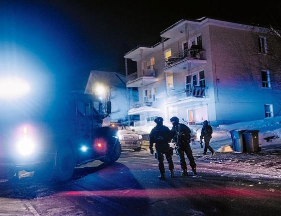 Após ataque,o primeiro ministro ofereceu apoio aos muçulmanos canadenses (Foto: Renaud Philippe / Anadolu Agency/AFP)