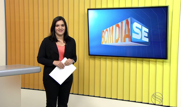 Lanne Pacheco apresenta o Bom Dia Sergipe dessa sexta-feira, 24 (Foto: Divulgação / TV Sergipe)