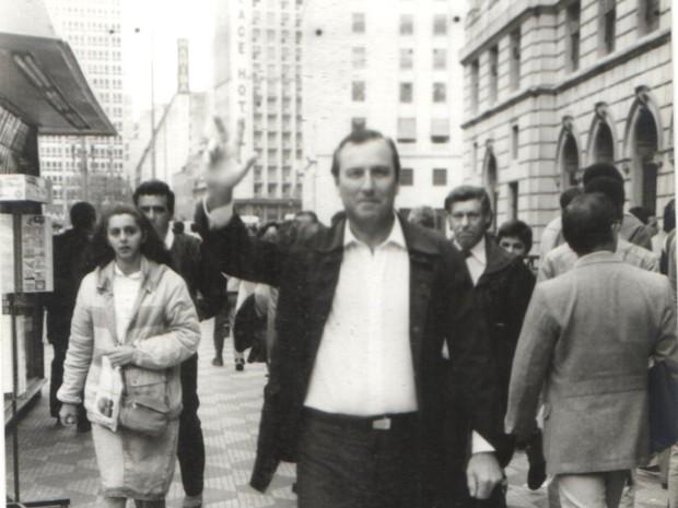 José Maria Eymael, em 1990, como candidato a deputado federal por São Paulo (Foto: Divulgação)