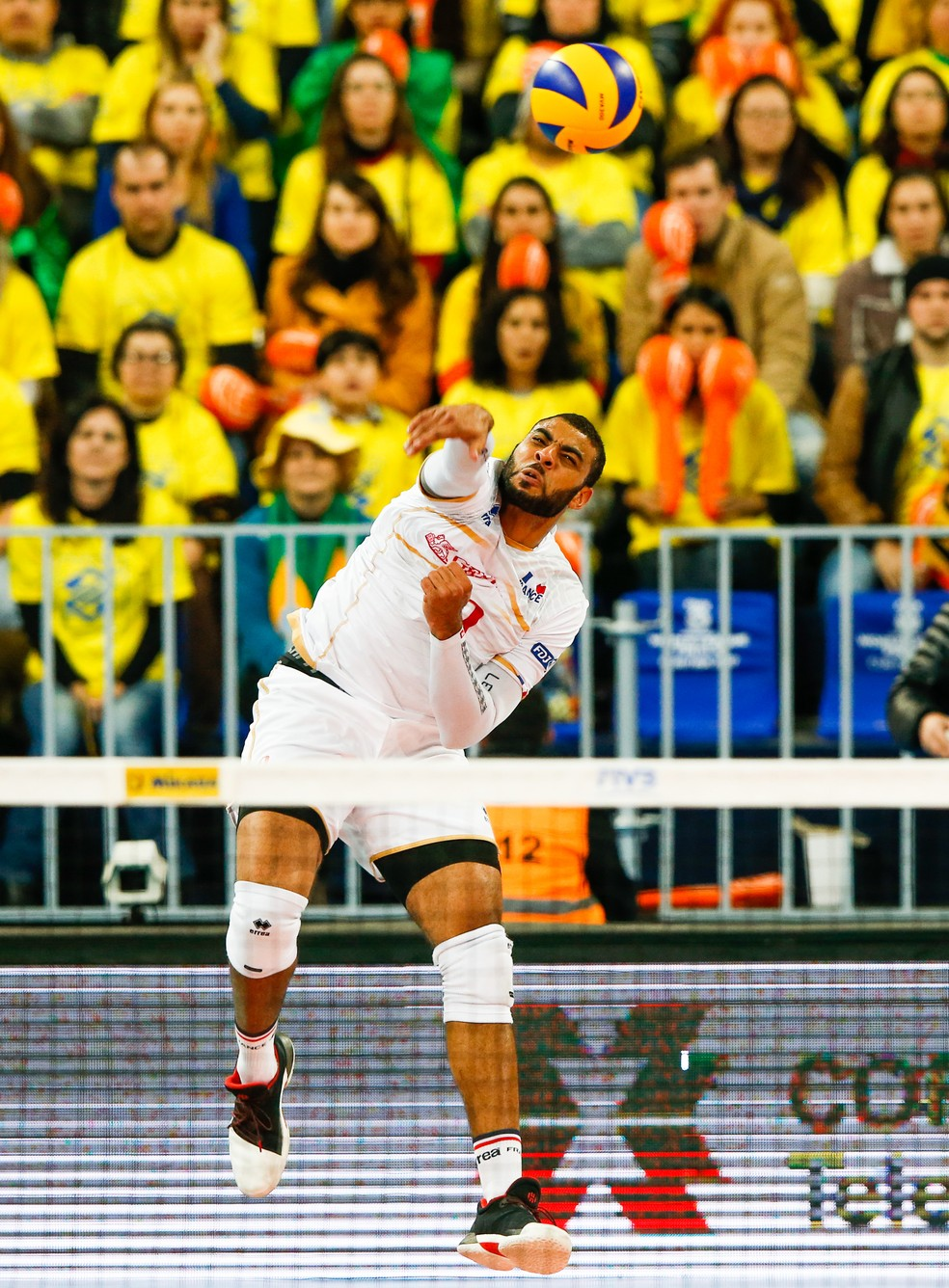 Brasil x França - final liga mundial de vôlei - Earvin Ngapeth (Foto: FIVB)
