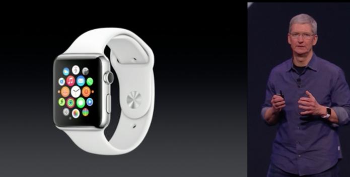 Apple Watch é lançado pela Apple na California (Foto: Reprodução/Apple)