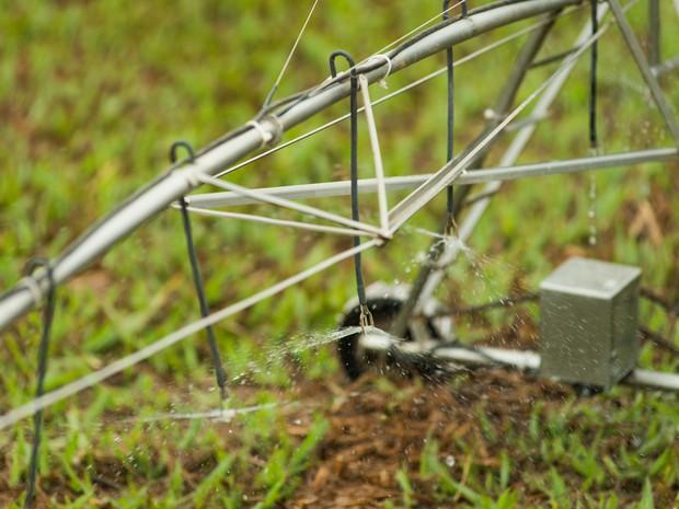 Agrishow em Ribeirão Preto, SP, reúne lançamentos para irrigação de lavouras (Foto: Érico Andrade/G1)