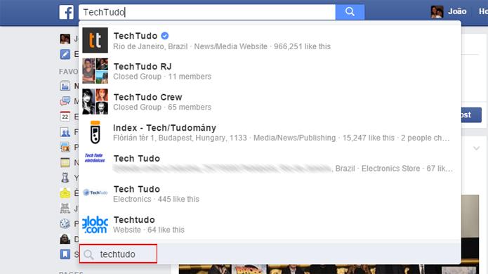 Nova pesquisa permite encontrar posts relacionados a um tema em todo o Facebook (Foto: Reprodução/Faceboobk)