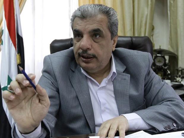 Mamoun Hamid Omari, diretor do órgão de combate a drogas de Damasco: guerra ao captagon (Foto: Louai Beshara/AFP)