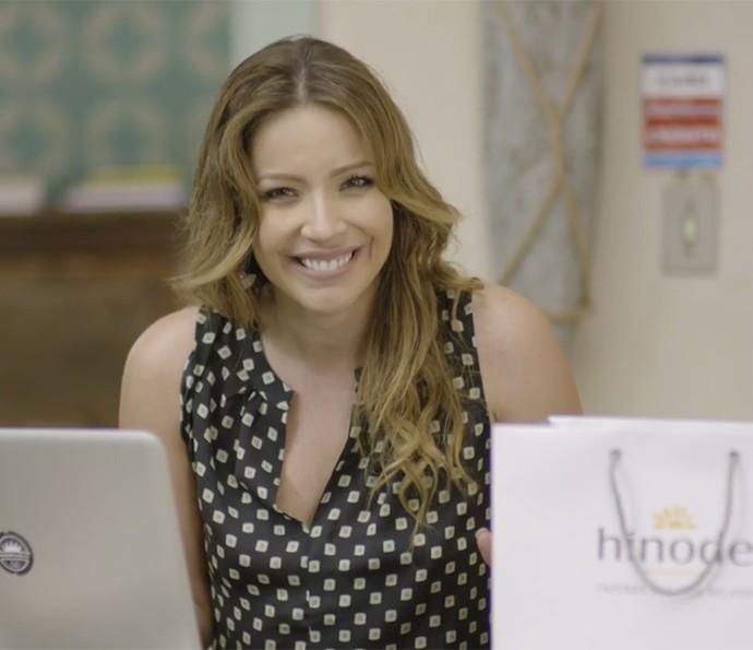 Sirlene dá todas as dicas para quem quer se tornar consultora da Hinode (Foto: TV Globo)