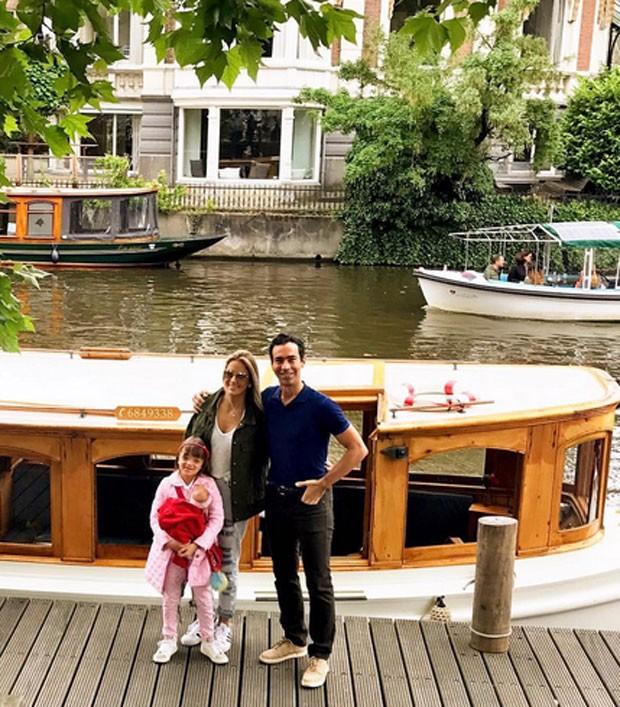 Ticiane, César e Rafinha (Foto: Reprodução)