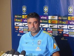 Gallo, Coletiva seleção Brasileira (Foto: Felipe Schmidt / Globoesporte.com)