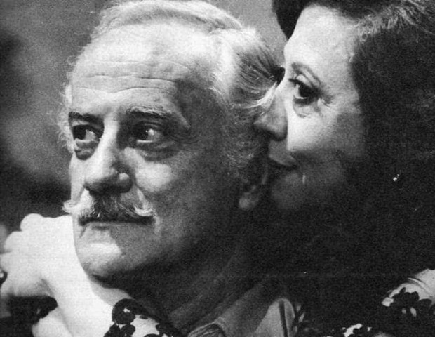 Paulo Autran e Fernanda Montenegro (Foto: reproduçao)