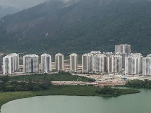 Vila dos Atletas está praticamente pronta (Foto: Ricardo Sette Câmara/Prefeitura do Rio)