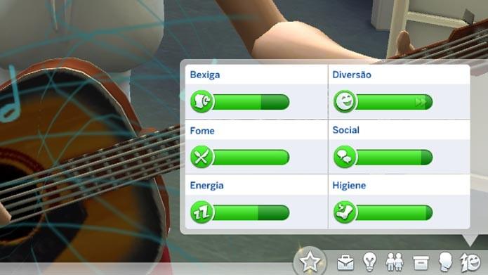 As emoções podem alterar os desejos e ações dos Sims (Foto: Reprodução/Tais Carvalho)
