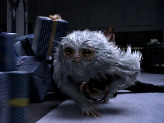 Seminviso, um dos seres surreais de 'Animais fantásticos e onde habitam'; ele tem a capacidade de ficar invisível (Foto: Divulgação)