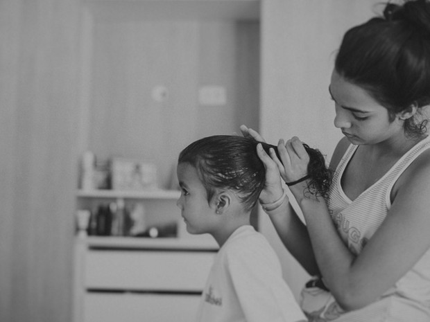 Fotógrafo Marcos José Misturini conta o dia a dia da filha por meio de fotos (Foto: Marcos Misturini/Arquivo pessoal)