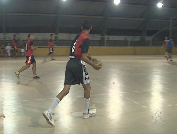 Time de handebol masculino do Cean vai disputar fase nacional dos Jogos Escolares Sub-17 (Foto: Reprodução/TV Acre)