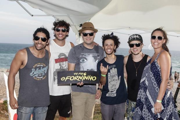 Nando Rodrigues na festa O Forninho (Foto: Alex Rodrigues e Kelly Castagna/MF Models assessoria)