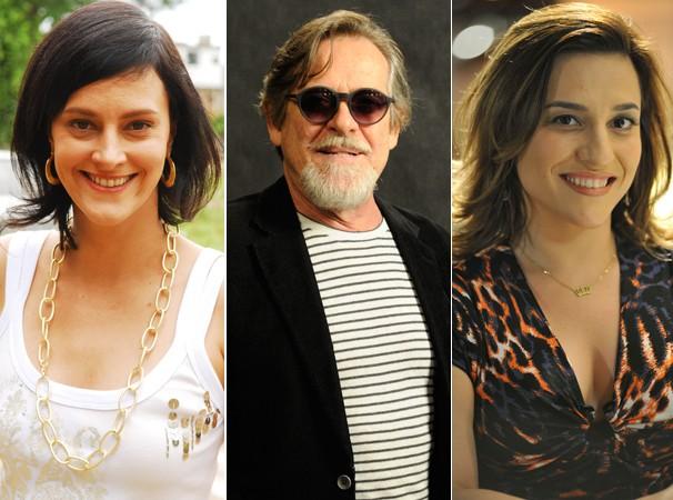 Os atores do interior de São Paulo, Claudia Missura, José de Abreu e Simone Gutierrez  (Foto: Renato Rocha Miranda e Raphael Dias/TV Globo)