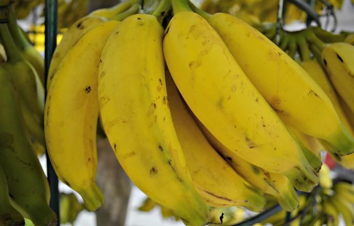 Banana euatleta (Foto: Karol Aood/GE-AP)