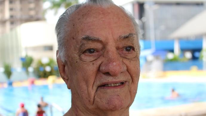 Seu Antônio Marinho, 86 anos  (Foto: Renato Pereira)