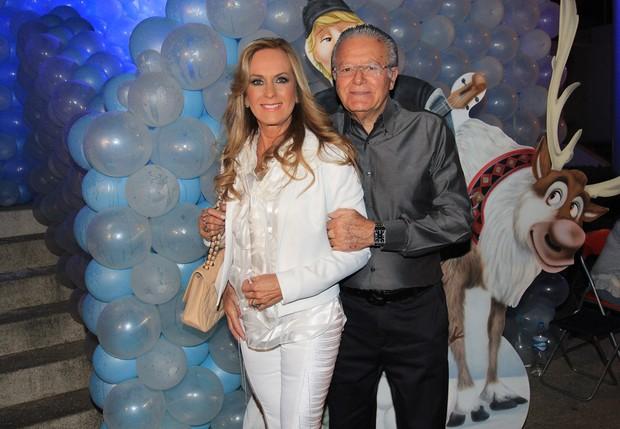 Helô Pinheiro e Fernando na festa de aniversário de 5 anso de Rafaella Justus (Foto: Celso Tavares/EGO)