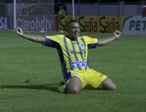 Marciel, Horizonte, Fluminense (Foto: Reprodução/SporTV)