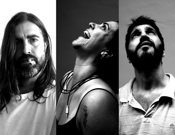 Camilo Pellegrine,  Waleska Arêas e Edson Zille  estão no elenco do espetáculo que critica a falta de ética (Foto: Divulgação)