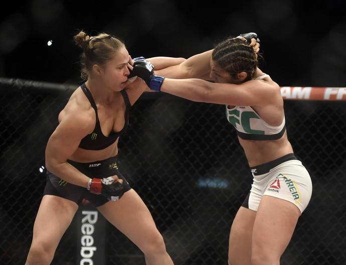 Ronda Rousey Bethe Correia UFC Rio UFC 190 MMA (Foto: André Durão)