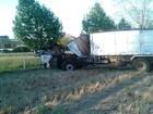 Idoso morre em colisão entre ônibus e caminhão em Tapera, RS