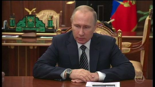 Putin anuncia um cessar-fogo entre grupos rebeldes e governo da Síria