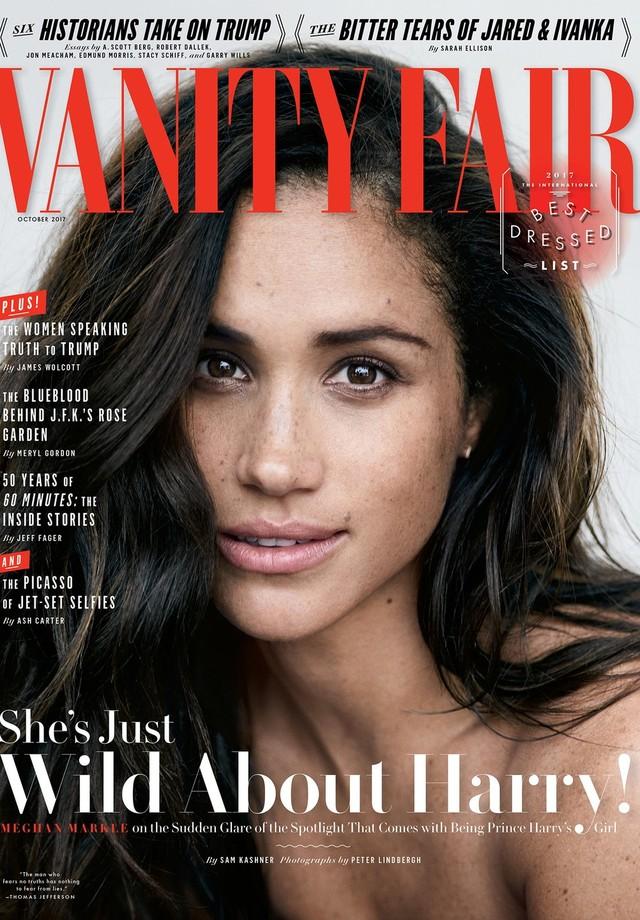 Meghan Markle na capa da Vanity Fair (Foto: Peter Lindbergh/Vanity Fair)