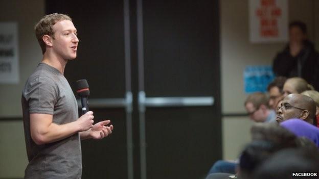 """CEO do Facebook diz que quer dar a usuários possibilidade de expressar """"mais sentimentos"""" em posts (Foto: BBC)"""