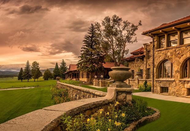 Vermejo Park Ranch, no Novo México, nos EUA (Foto: Divulgação/Vermejo Park Ranch)