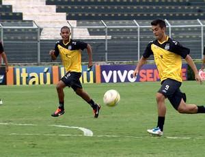 Jogadores da Ponte durante treino (Foto: Reprodução EPTV)