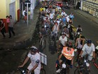 Ciclistas pedem paz no trânsito durante manifestação em Manaus