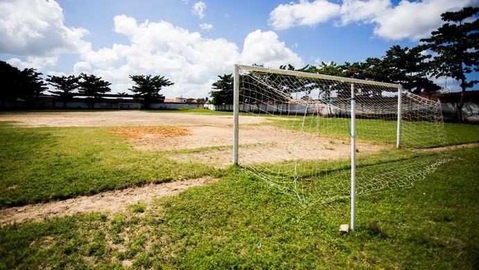 Campo do Vasco da Gama, em Penedo (Foto: Jonathan Lins / GloboEsporte.com)